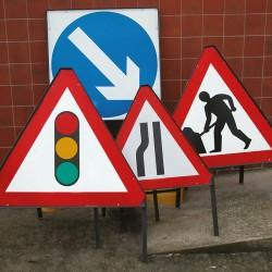 Road Work Signage