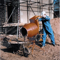 Tip-Up Concrete Mixer