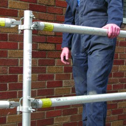 Staging Board Handrail System