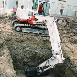 8 Tonne Midi Excavator